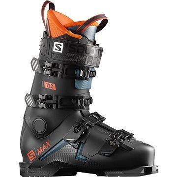 Černé pánské lyžařské boty Salomon - velikost vnitřní stélky 29 cm
