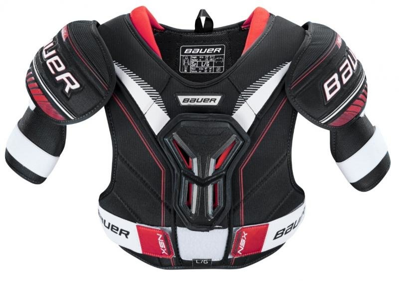 Hokejový chránič ramen - junior Bauer - velikost M
