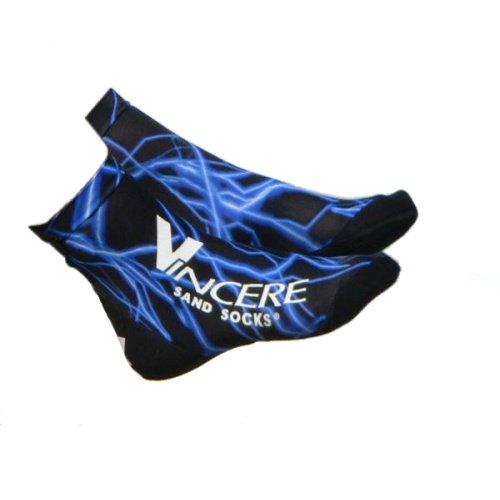 Černo-modré ponožky Lightining, VINCERE SPORT - velikost 34-35,5 EU