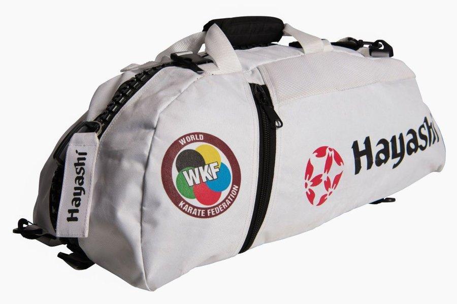 Taška - Hayashi taška / batoh Combo WKF bílá M - bílá