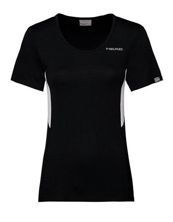 Černé dámské tenisové tričko Head