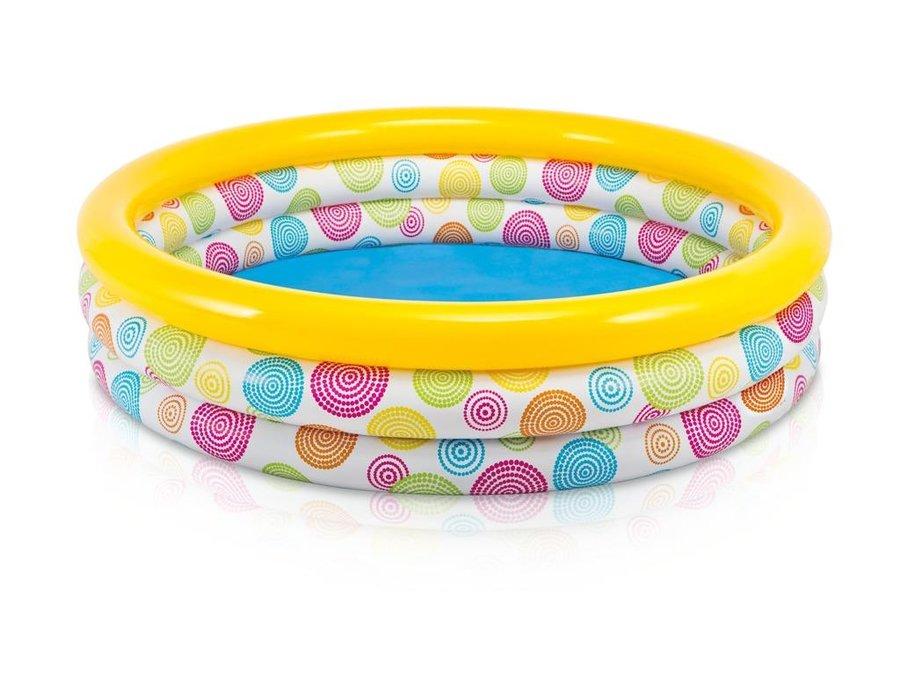 Nadzemní nafukovací dětský kruhový bazén INTEX - průměr 168 cm a výška 38 cm