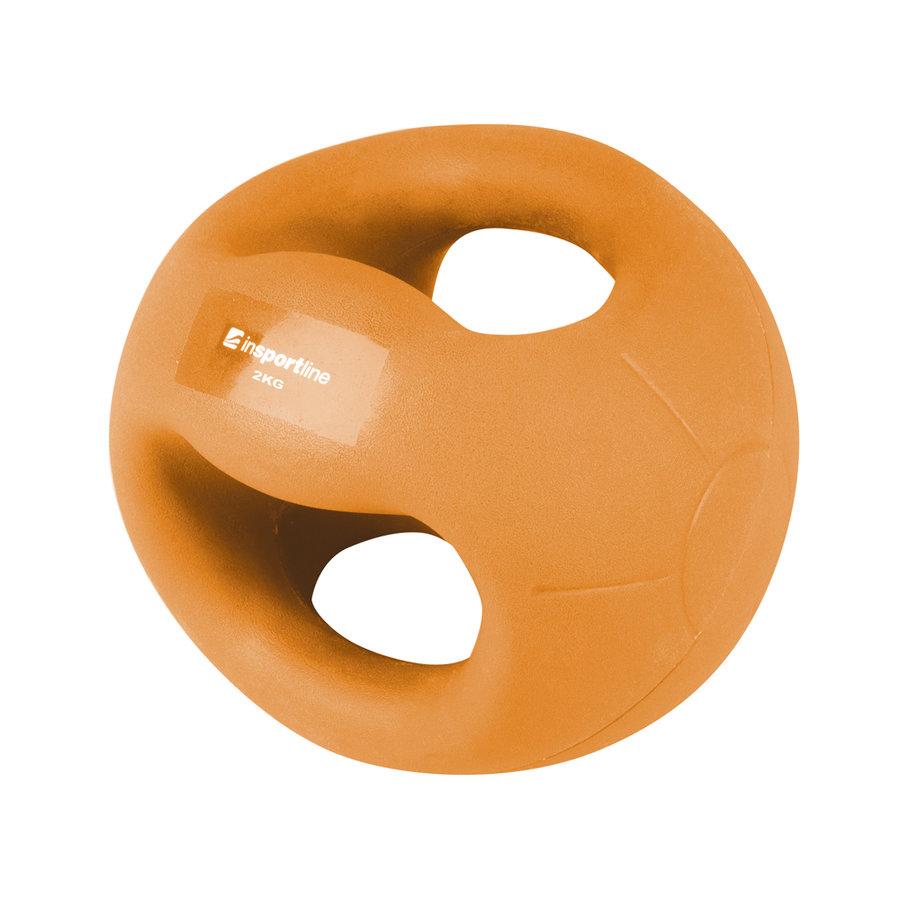 Medicinbal s úchopy inSPORTline - 2 kg