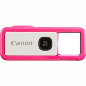 Bílo-růžová outdoorová kamera IVY REC Dragon Fruit, Canon