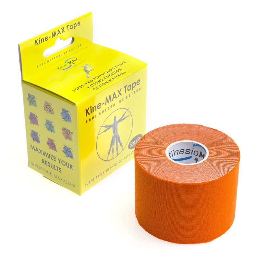 Oranžová tejpovací páska kine-max - délka 5 m a šířka 5 cm