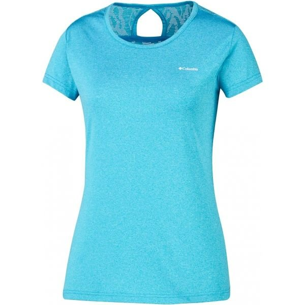 Modré dámské tričko s krátkým rukávem Columbia