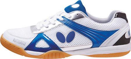 Bílo-modrá sálová obuv Lezoline, Butterfly