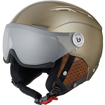 Zlatá lyžařská helma Bollé