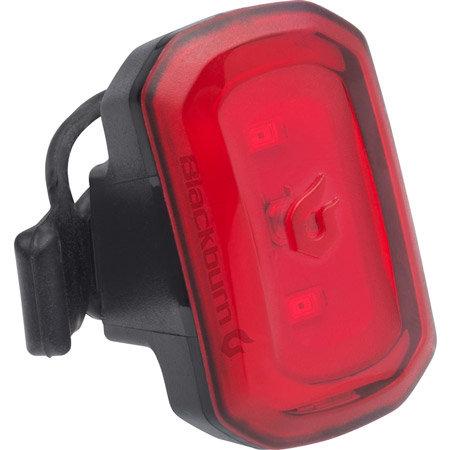 Světlo na kolo - Zadní blikačka BLACKBURN Click USB černá
