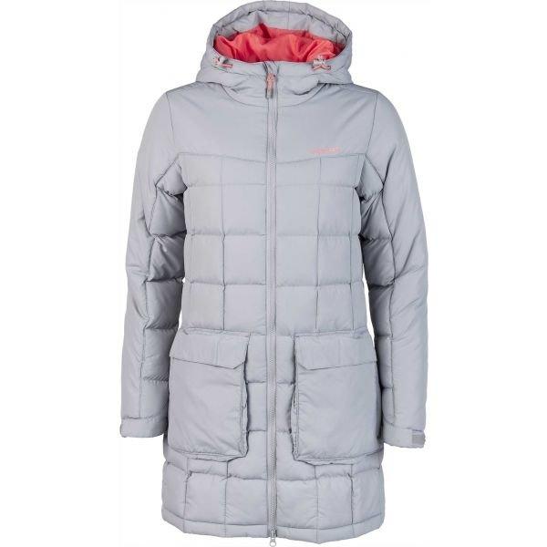Šedý zimní dámský kabát Head