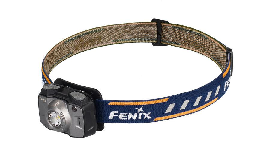 Čelovka - Nabíjecí čelovka Fenix HL32R Barva: šedá
