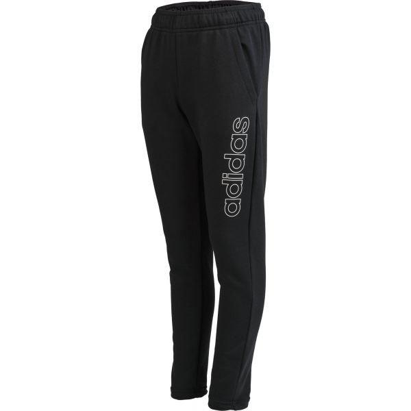 Černé chlapecké tepláky Adidas - velikost 116