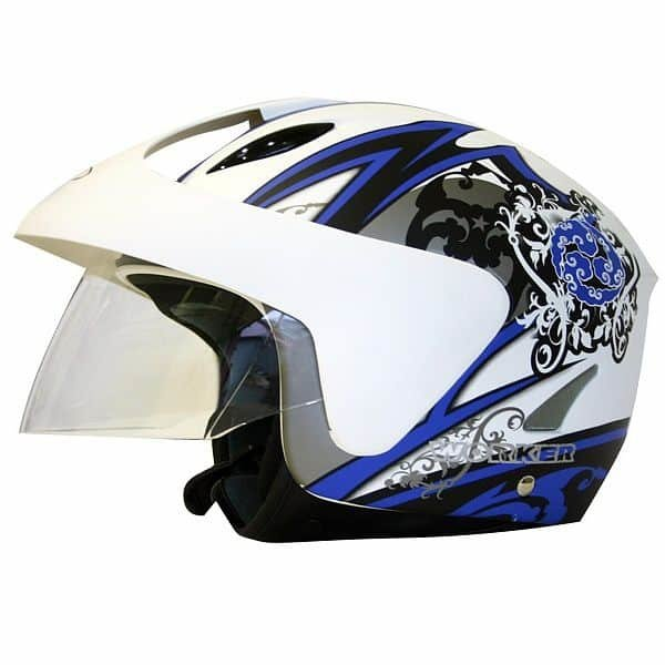 Helma na motorku Worker - velikost 53-54 cm