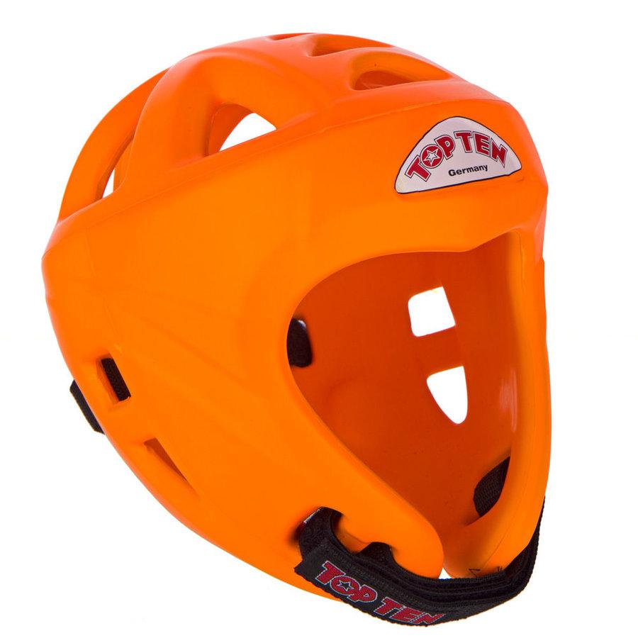Oranžová boxerská přilba Top Ten - velikost L