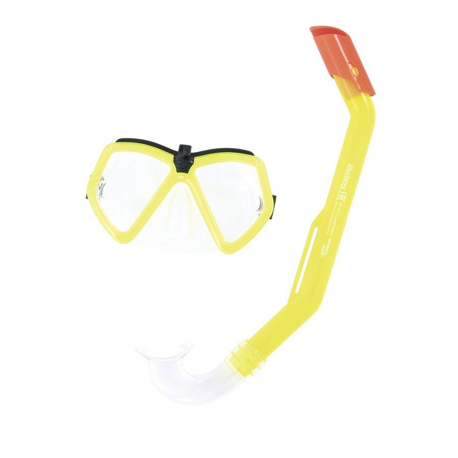 Potápěčská sada - Potápěčský set BESTWAY Hydro Swim 24027 - žlutý