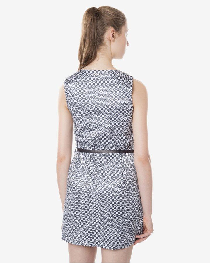 Modré dámské šaty Fracomina - velikost L