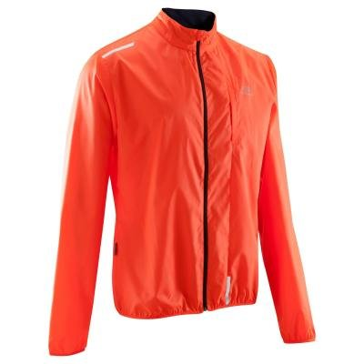 Červená pánská běžecká bunda Wind, Kalenji - velikost L