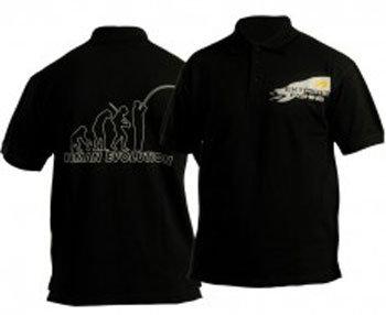 Černé pánské rybářské tričko EVOLUTION, DOC Fishing