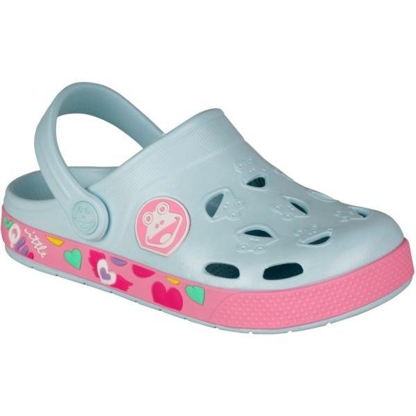 Modré dívčí sandály Coqui