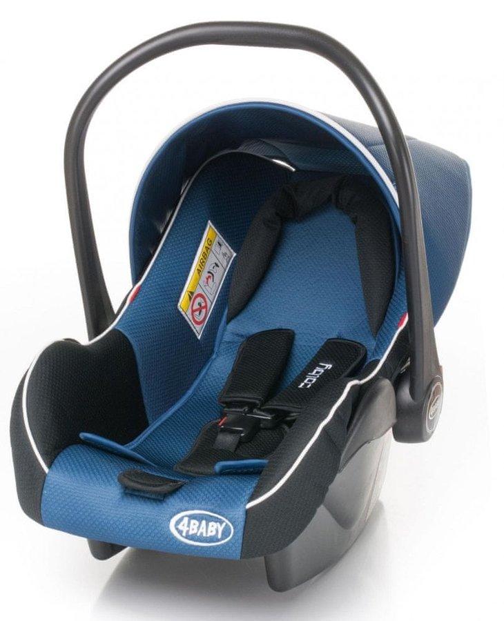 Modrá dětská autosedačka Colby, 4Baby - nosnost 13 kg