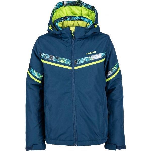 Zelená dětská zimní bunda Head - velikost 116