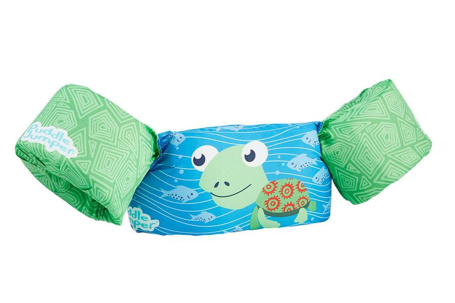 Modro-zelená dětská plovací vesta Sevylor