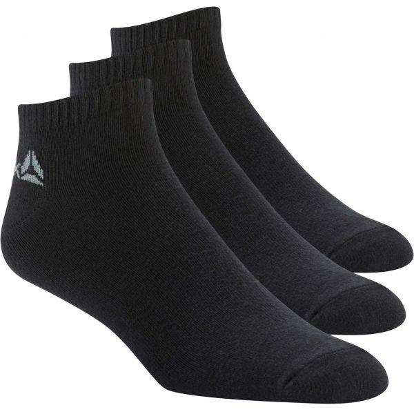 Ponožky - Reebok ACTIVE CORE INSIDE SOCK 3P černá 39 - 42 - Sportovní ponožky