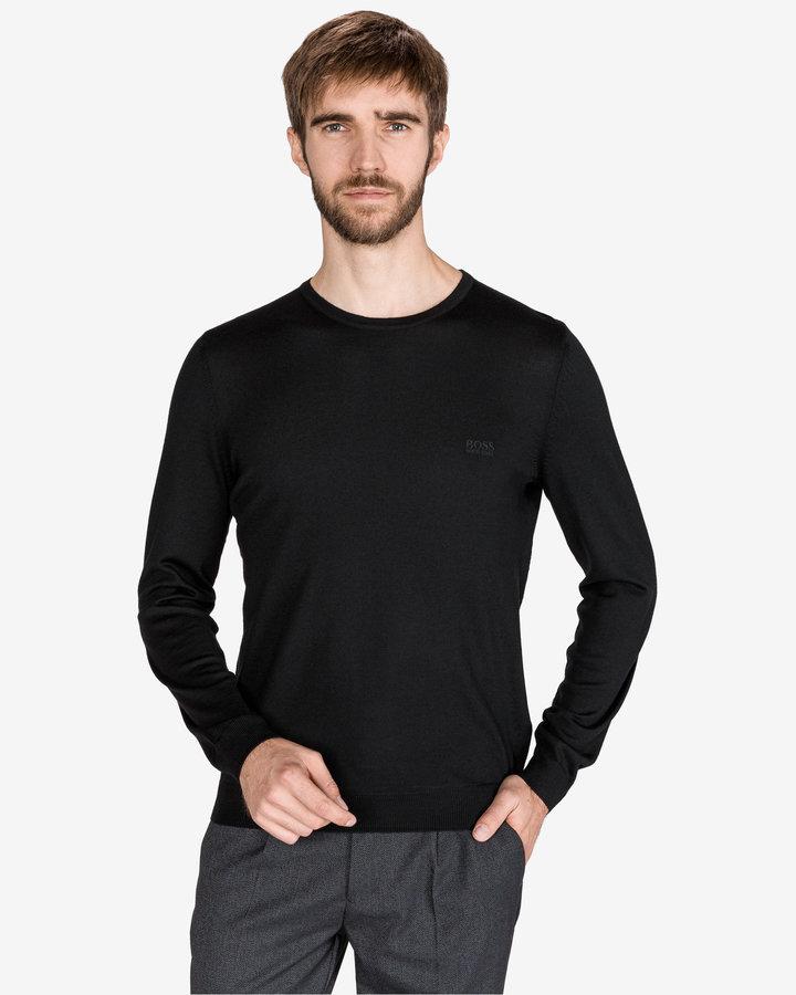 Černý pánský svetr Hugo Boss - velikost XL