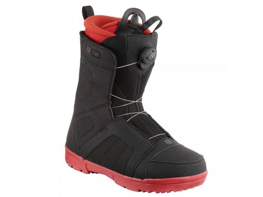 Černé boty na snowboard Salomon - velikost 43 1/3 EU