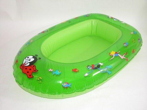 Zelený dětský nafukovací člun Wiky
