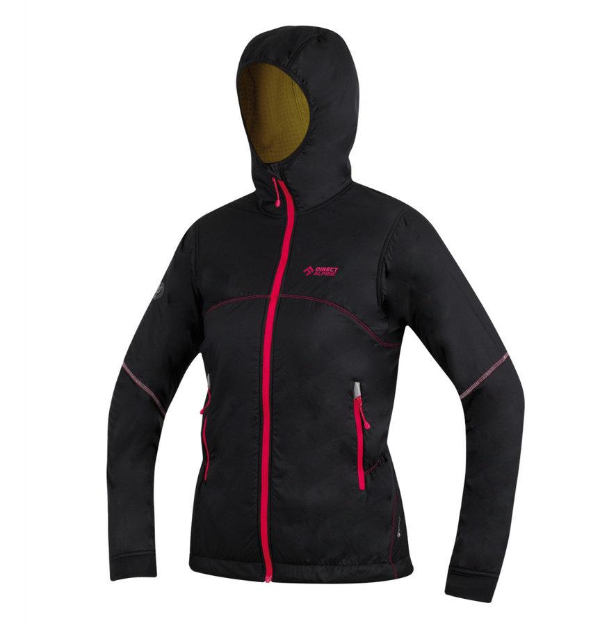Černá dámská bunda na běžky s kapucí Direct Alpine - velikost S