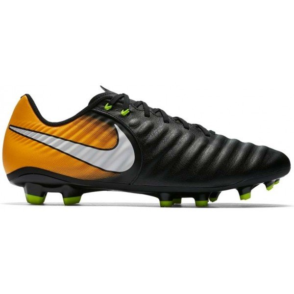 Černo-oranžové pánské kopačky Nike
