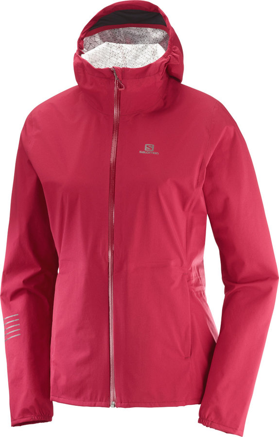 Růžová dámská bunda Salomon