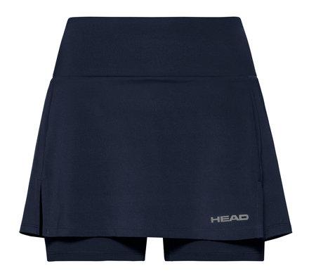 Modrá dámská tenisová sukně Head