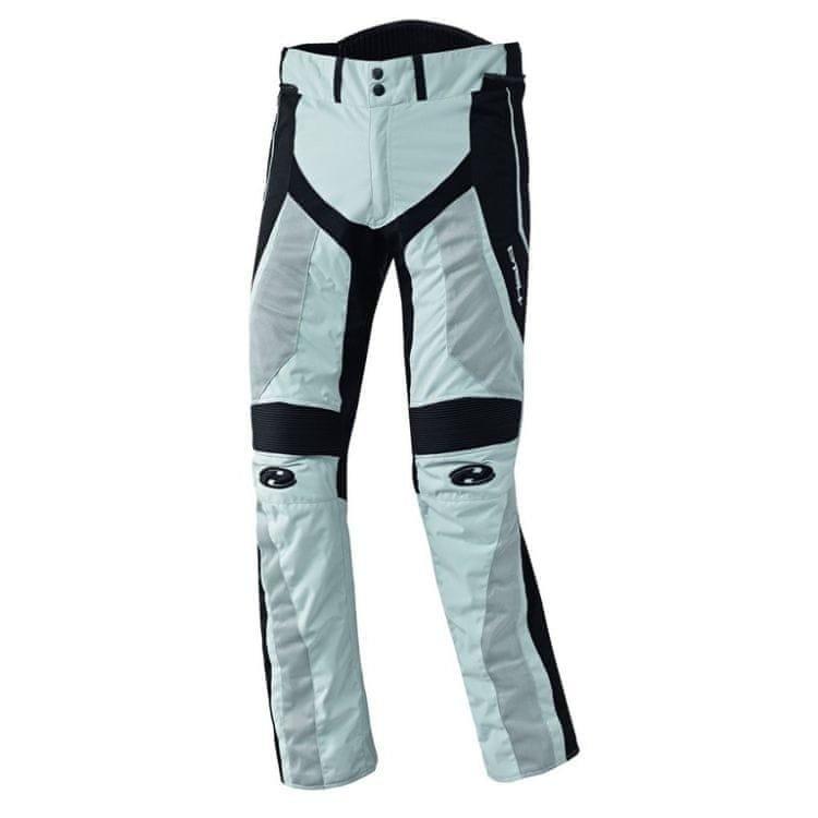 Bílo-černé pánské motorkářské kalhoty Held