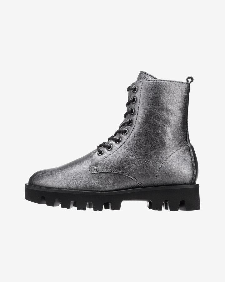 Šedé dámské kotníkové boty Högl - velikost 41 EU