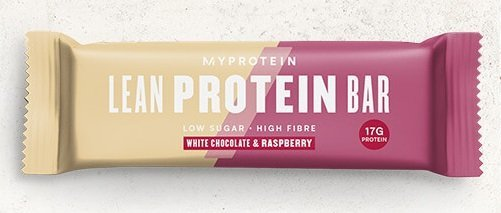 Proteinová tyčinka - Lean Protein Bar - MyProtein 45 g White Chocolate and Raspberry