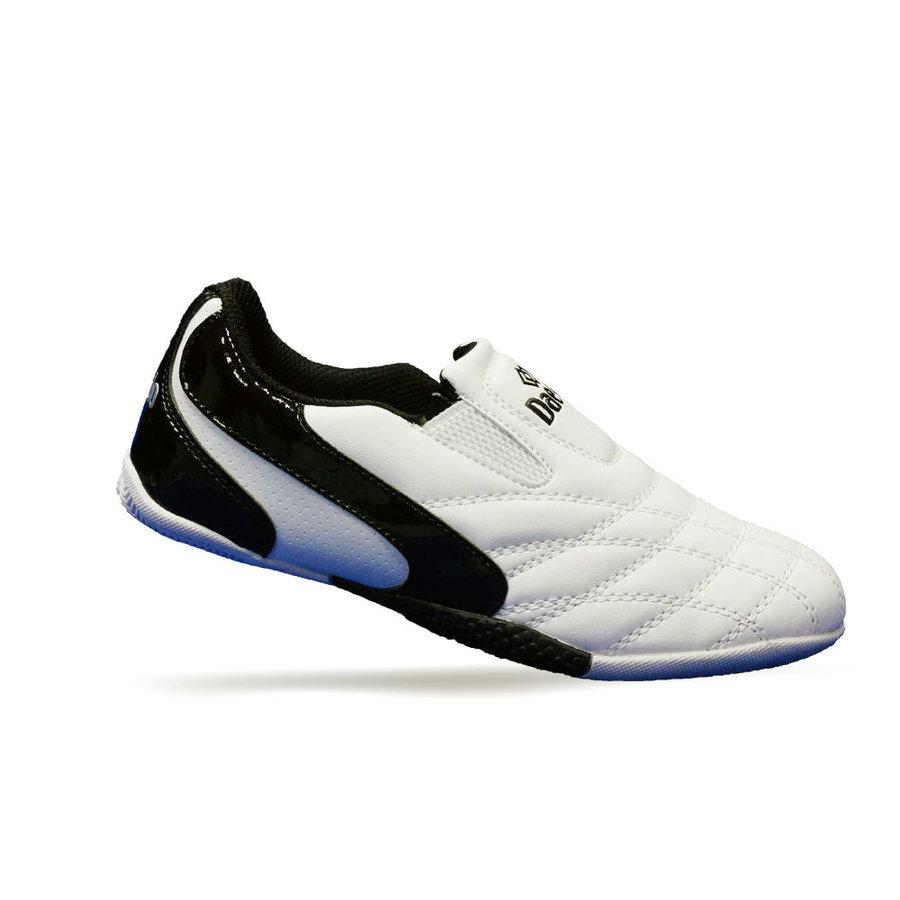 Sálové boty - obuv - Dětské Budo Boty Daedo KICK - bílá/černá - bílá - velikost 33