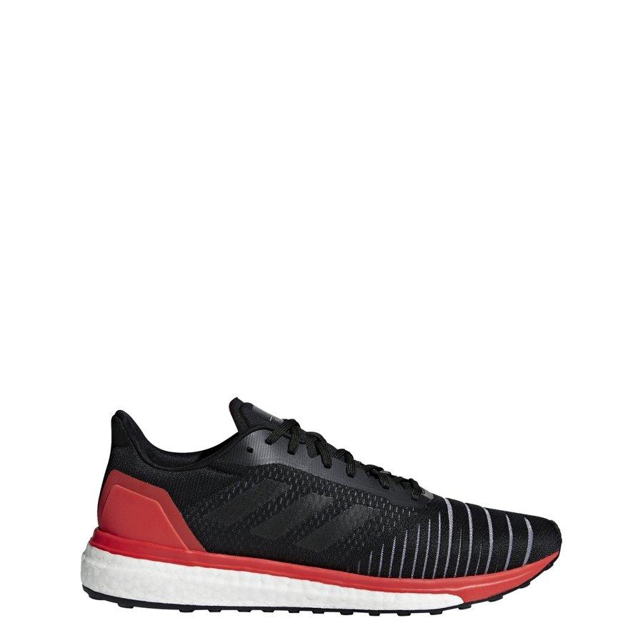 Černo-červené pánské běžecké boty Solar drive, Adidas - velikost 42 EU