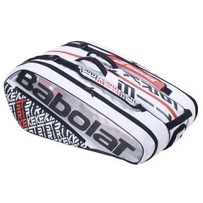 Bílá tenisová taška Babolat