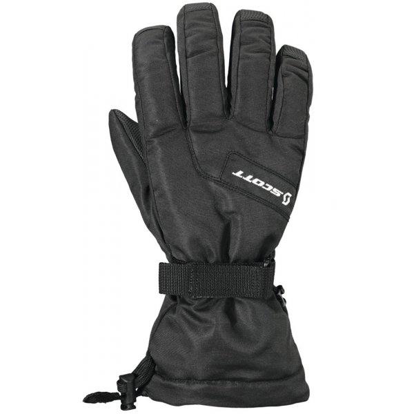 Černé dámské lyžařské rukavice Scott