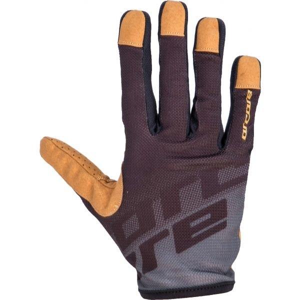 Šedé cyklistické rukavice Arcore