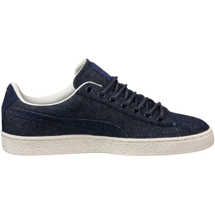 Modré pánské tenisky Basket, Adidas, Puma