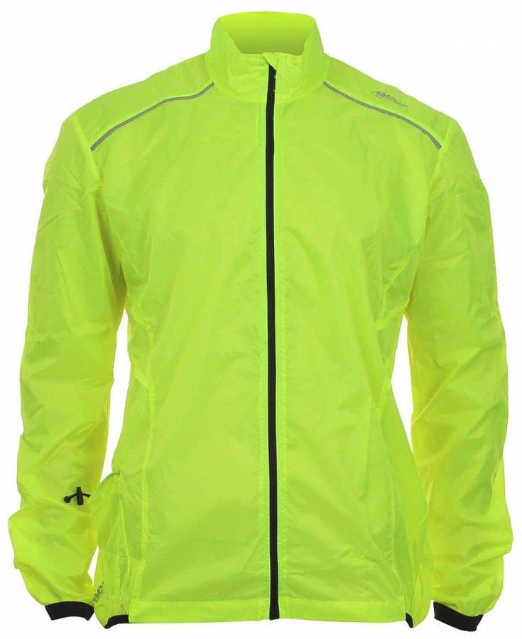 Žlutá cyklistická bunda Avento