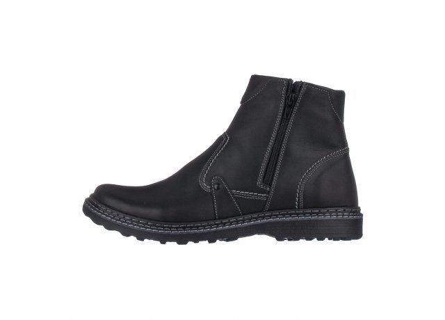 Černé pánské zimní boty EFFE TRE