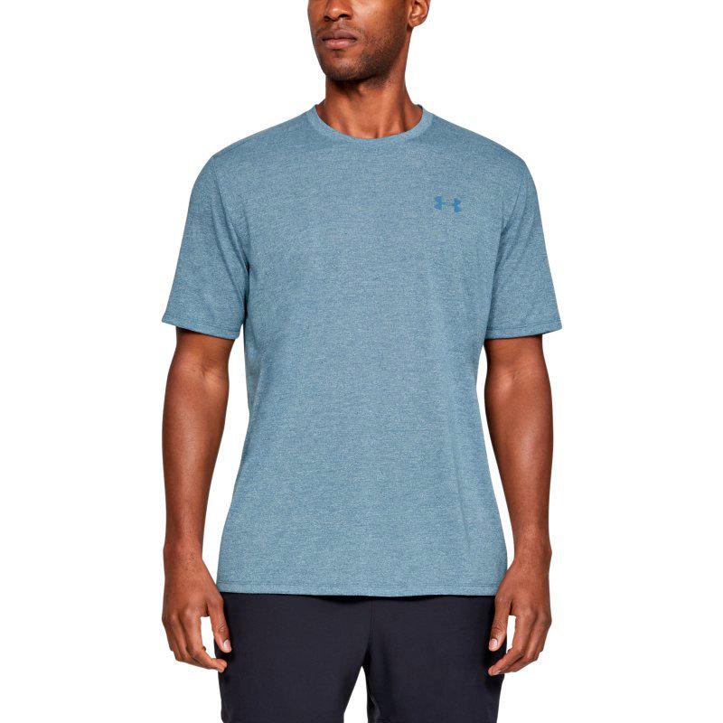 Modré pánské tričko s krátkým rukávem Under Armour