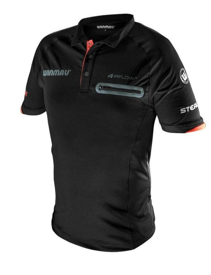 Černý šipkařský dres Winmau - velikost S