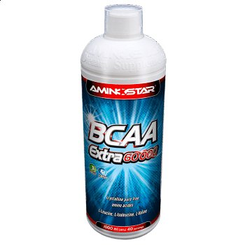 BCAA - Aminostar BCAA Extra 60000 Liquid 1000 ml 1000ml, pomeranč