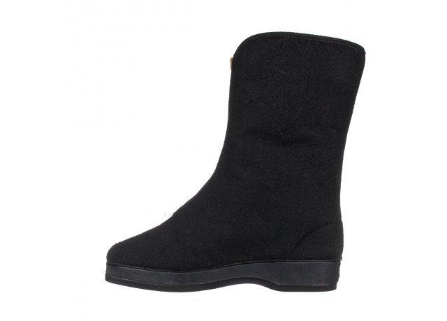 Černé dámské zimní boty - velikost 41 EU