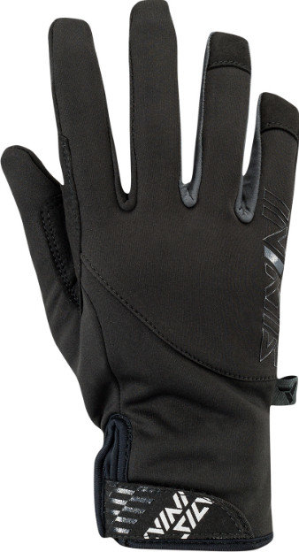 Černé dětské rukavice na běžky Silvini